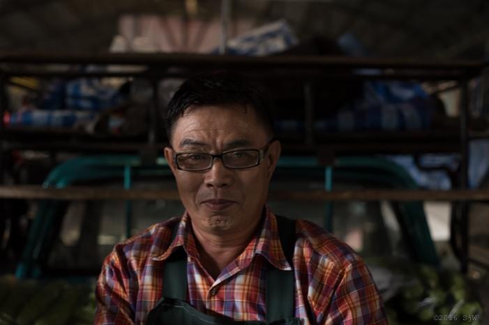 The Cucumber Seller