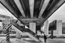 Under the flyover at Lat Phrao Junction, Bangkok